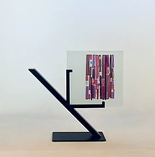 Pink Refuge II by Alicia Kelemen (Art Glass Sculpture)
