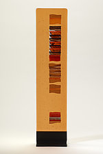 Caramel Carpet II by Alicia Kelemen (Art Glass Sculpture)