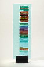 Spring Sunrise Carpet II by Alicia Kelemen (Art Glass Sculpture)