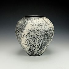 Naked Raku Vessel VI by Lance Timco (Ceramic Vase)