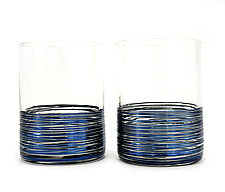 Concentric Tumblers by Corey Silverman (Art Glass Drinkware)
