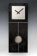 Plain Jane Pendulum Clock by Leonie  Lacouette (Wood Clock)