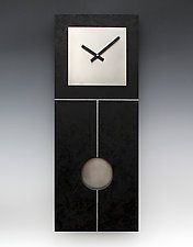 Plain Jane Pendulum Clock by Leonie  Lacouette (Wood Clock)