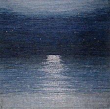 Midnight Moonlight by Sherry Schreiber (Fiber Wall Hanging)