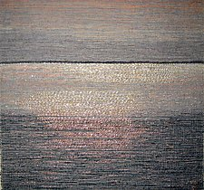 Late Day Tide by Sherry Schreiber (Fiber Wall Hanging)
