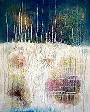 Ascension by Amy Longcope (Mixed-Media Painting)