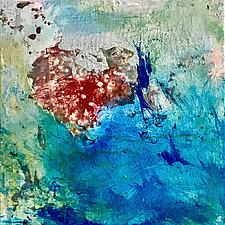 Oceana by Amy Longcope (Mixed-Media Painting)