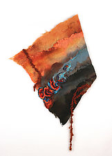 Gift of Fire by Sharron Parker (Fiber Wall Hanging)