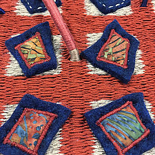 Earth Series No. 16 by Laurie dill-Kocher (Fiber Wall Hanging)