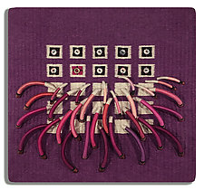 Earth Series No. 20 by Laurie dill-Kocher (Fiber Wall Hanging)