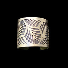 Palms Bracelet by Gogo Borgerding (Silver & Aluminum Bracelet)