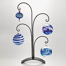 Four Delights Ornament Stand by Steven Bronstein (Metal Ornament Stand)