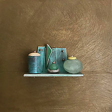 Bronze Still Life 78 by Jack McLean and Alice McLean (Metal Wall Sculpture)