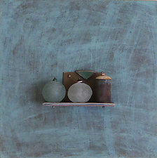 Bronze Still Life 74 by Jack McLean and Alice McLean (Metal Wall Sculpture)