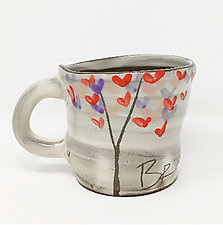 Love Tree Mug by Noelle VanHendrick and Eric Hendrick (Ceramic Mug)