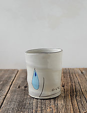 Love the Water Cup by Noelle VanHendrick and Eric Hendrick (Ceramic Drinkware)