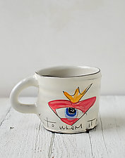 To Whom it May Concern Mug by Noelle VanHendrick and Eric Hendrick (Ceramic Mug)