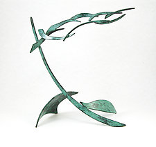 Organics Variation 1A by Charles McBride White (Metal Sculpture)