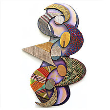 No. 115 by James Nelson (Wood Wall Sculpture)