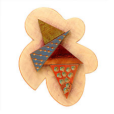 No. 82 by James Nelson (Wood Wall Sculpture)