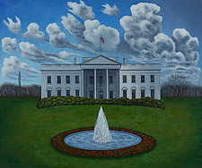 The White House by Scott Kahn (Giclee Print)