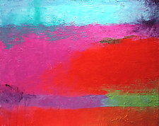 Red Road by Katherine Greene (Acrylic Painting)