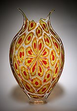 Sunset Foglio by David Patchen (Art Glass Vessel)