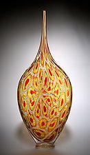 Sunset Resistenza by David Patchen (Art Glass Sculpture)