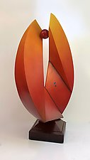 Spherics by John Wilbar (Wood Sculpture)