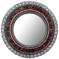 Gift Series: Green Tea by Angie Heinrich (Mosaic Mirror)