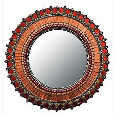 Gift Series: Mandarin by Angie Heinrich (Mosaic Mirror)