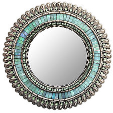 Gift Series: Seafoam Drop by Angie Heinrich (Mosaic Mirror)