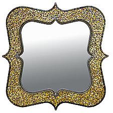 Mina Gold by Angie Heinrich (Mosaic Mirror)