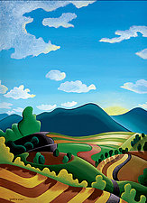 Long View by Wynn Yarrow (Giclee Print)