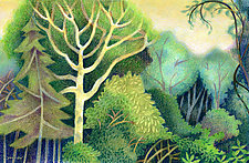One Hundred Greens by Wynn Yarrow (Giclee Print)