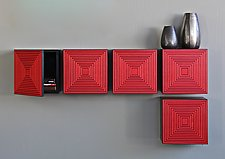 Maze Box by Kevin Irvin (Wood Cabinets)
