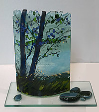 The Perfect Day by Alice Benvie Gebhart (Art Glass Sculpture)