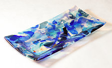 Small Confetti Tray I by Alice Benvie Gebhart (Art Glass Tray)