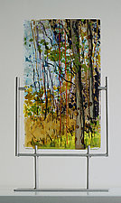 A New Day by Alice Benvie Gebhart (Art Glass Sculpture)