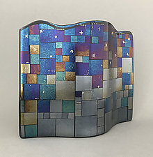 Starlight by Sabine  Snykers (Art Glass Sculpture)