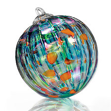 Koi Pond by Paul Lockwood (Art Glass Ornament)