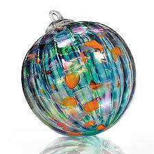 Koi Pond by Paul Lockwood (Art Glass Ornament)