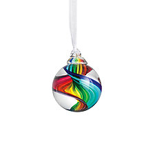 Feelin' Groovy by Fritz Lauenstein (Art Glass Ornament)