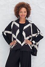 Dash Jacket by Laura Hunter (Shibori Jacket)