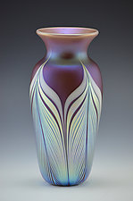 Private Collection Vase by Donald  Carlson (Art Glass Vase)