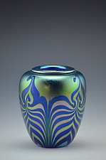 Miniature Private Collection Piece by Donald  Carlson (Art Glass Vase)