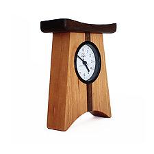 East of Appalachia Desk Clock by Desmond Suarez (Wood Clock)