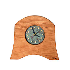 American Liberty Mantel Clock by Desmond Suarez (Wood Clock)