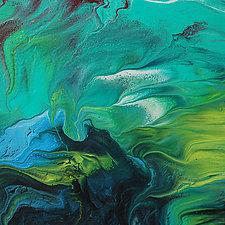 Tropical Dreams by Cassandra Tondro (Acrylic Painting)