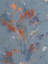 Divine Spark by Cassandra Tondro (Acrylic Painting)
